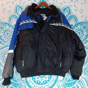 Vintage Snowmobile Jacket Iceman 2XL Mens Warm